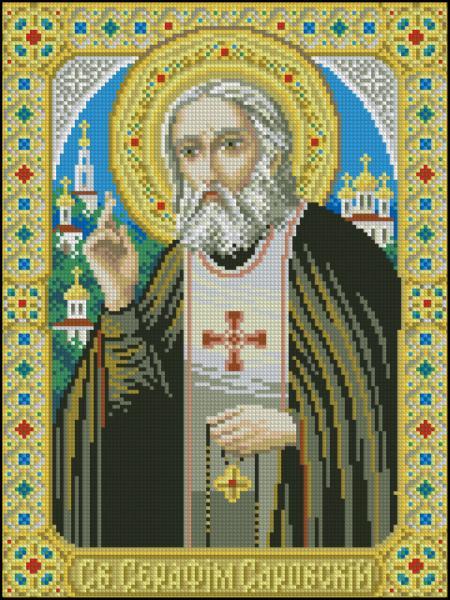 Серафим саровский схема вышивки крестом