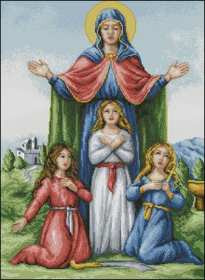 Схема иконы вера надежда любовь фото 778