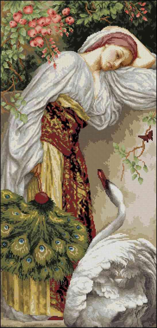 Разноцветная Зебра » Схемы вышивки крестом, крестиком 87