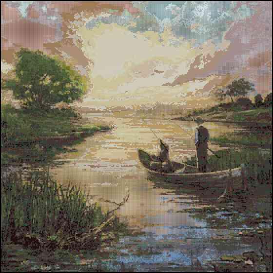 бисер летом на рыбалке