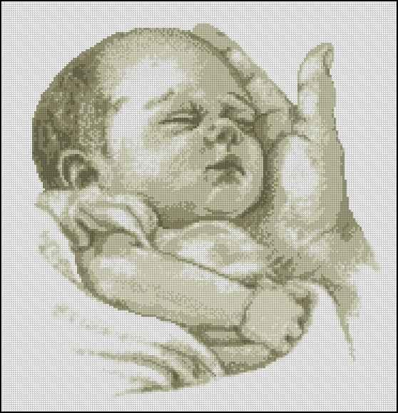 Схема вышивки бесплатно малыш фото 494
