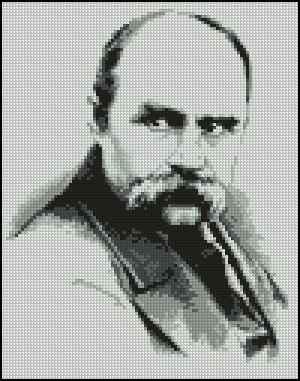 Схемы вышивки крестом тарас шевченко