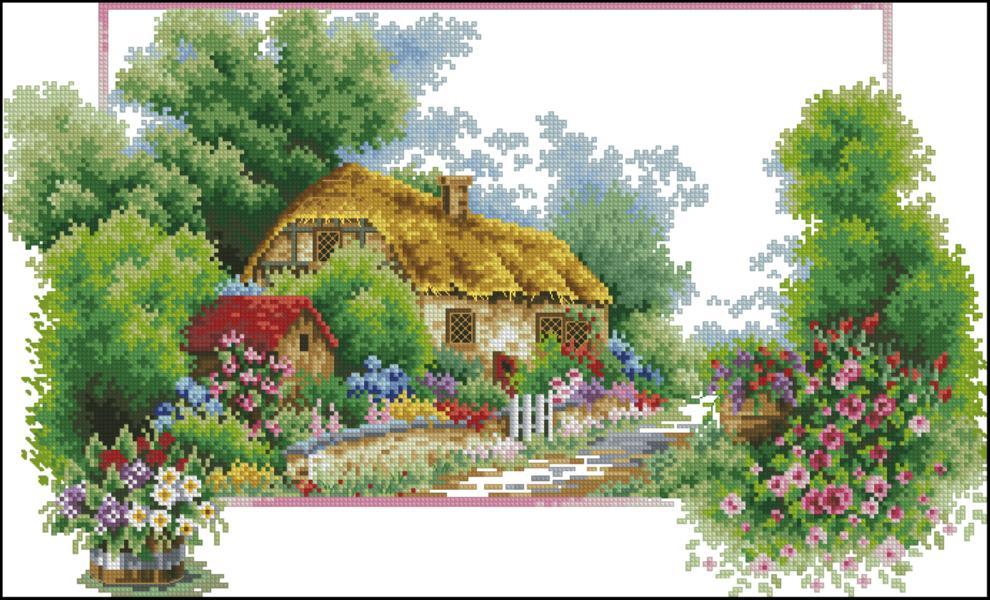 Весна - Домик