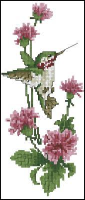 Летние красавицы 2 схема вышивки крестом