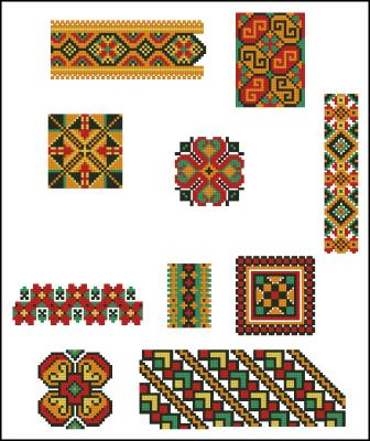 Схемы вышивки украинские скачать бесплатно