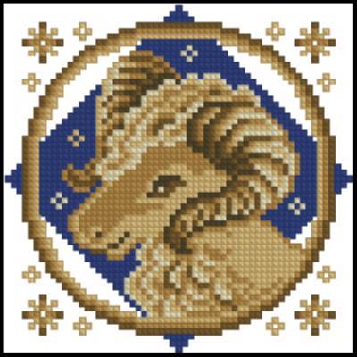 Знаки зодиака в вышивке