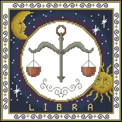 Знаки зодиака вышивка крестом знак весов